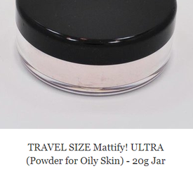 matte powder for oily skin mattify cosmetics ultra powder transparent oil absorbent makeup for acne prone skin ultra powder travel size jars