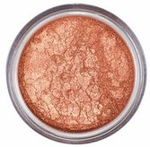 Copper eye shadow by Mattify cosmetics long lasting eye makeup natural product for oily skin crease-free eye makeup high pigment sparkly bronze heat eyeshadow with built in primer lucky penny