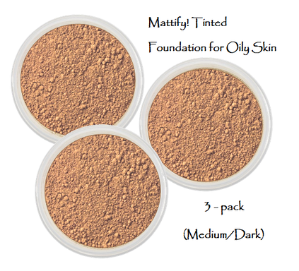 matte foundation makeup for dark tan skin mattify cosmetics long lasting mineral makeup powder oil absorbent powder that looks natural pack of 3