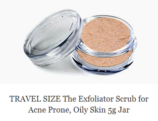travel size products miniature containers how to remove dry skin Mattify cosmetics skin care products for flaky skin exfoliating scrub to remove blackheads and prevent acne face wash that removes dead skin cells for soft exfoliated skin to get rid of breakouts
